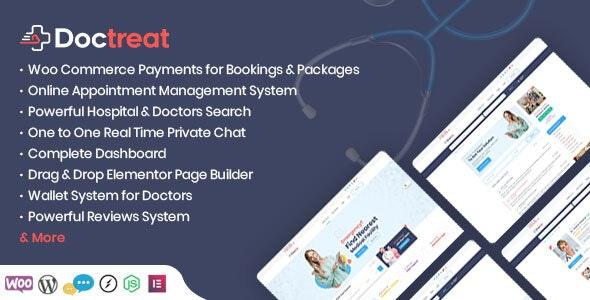 Doctreat 1.4.7 – Doctors Directory WordPress Theme