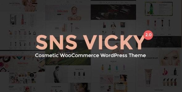 SNS Vicky 3.3.0 – Cosmetic WooCommerce WordPress Theme