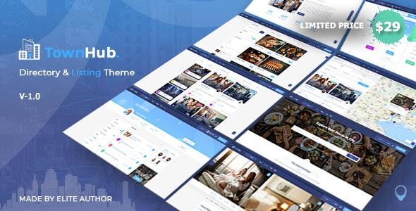 TownHub 1.6.2 - Directory & Listing WordPress Theme