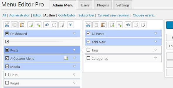 Admin Menu Editor Pro 2.15.1 – WordPress Plugin