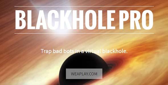 Blackhole Pro 2.9.0 Nulled – WordPress Security Plugin