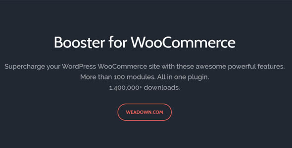 WooCommerce Booster Plus 5.4.6 Nulled