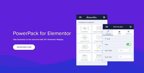 PowerPack For Elements 2.6.0 Nulled – Addons for Elementor