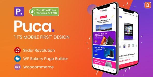 Puca 2.4.1 – Optimized Mobile WooCommerce Theme