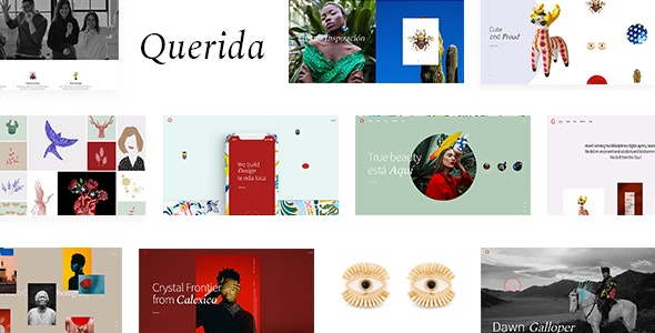 Querida 1.1.1 Nulled - Creative Agency Theme
