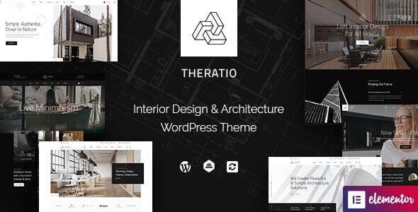 Theratio 1.1.7 – Architecture & Interior Design Elementor