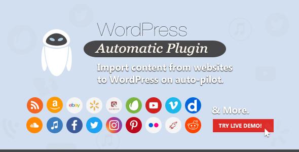 WordPress Automatic Plugin 3.53.3 Nulled