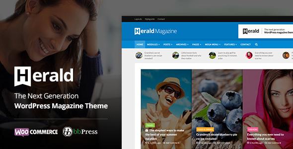 Herald 2.5 – News Portal & Magazine WordPress Theme