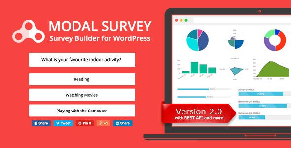 Modal Survey 2.0.1.8.7 – WordPress Poll, Survey & Quiz Plugin