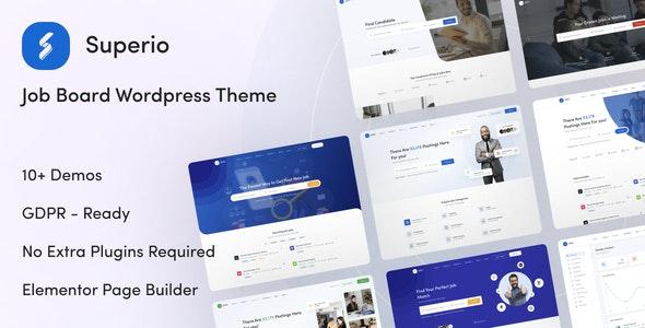 Superio 1.1.4 - Job Board WordPress Theme